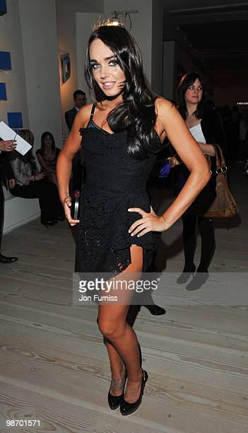 Tamara Ecclestone attends the launch party for Samsung 3D Television at the Saatchi Gallery on April 27 2010 in London England