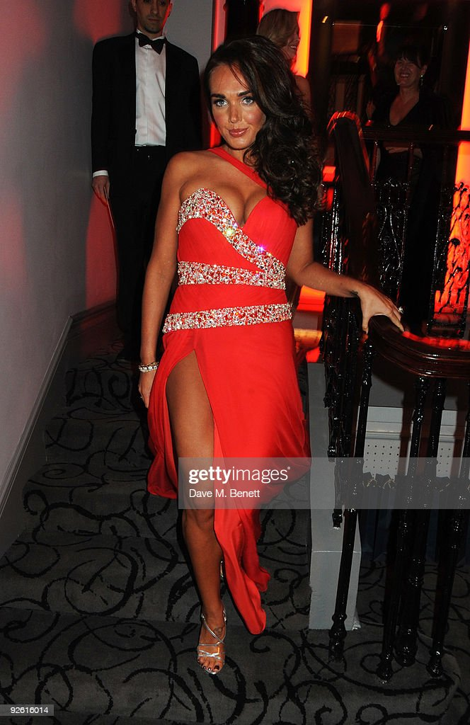 Tamara Ecclestone attends the opening party of The Red Room, on November 2, 2009 in London, England.