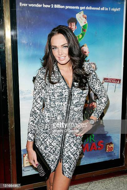 Tamara Ecclestone attends the UK premiere of 'Arthur Christmas' at Empire Leicester Square on November 6 2011 in London England