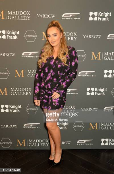 Tamara Ecclestone attends the VIP launch event for 'Pride Rock by David Yarrow' at Maddox Gallery on October 3 2019 in London England