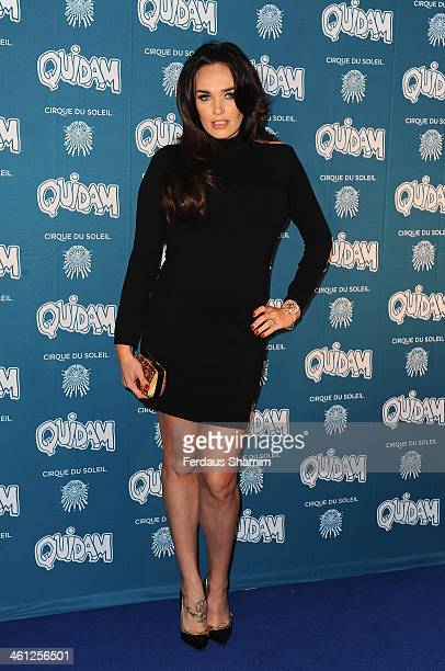 Tamara Ecclestone attends the VIP night for Cirque Du Soleil Quidam at Royal Albert Hall on January 7 2014 in London England