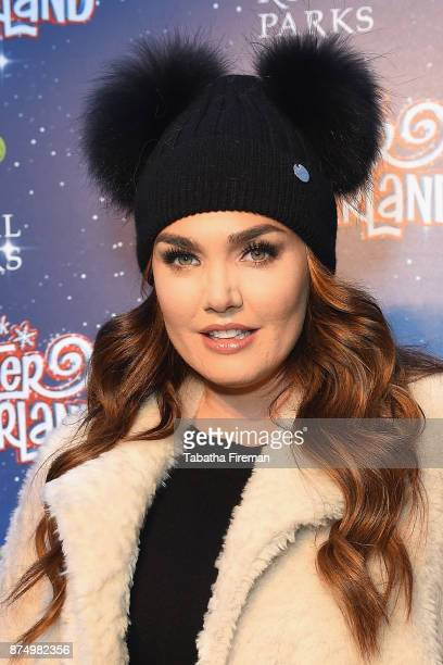 Tamara Ecclestone attends the Winter Wonderland VIP launch night at Hyde Park on November 16 2017 in London England
