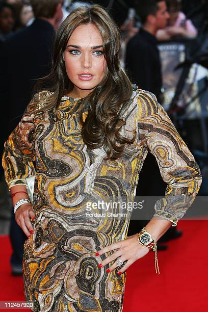 Tamara Ecclestone attends the World Premiere of 'RocknRolla' held at the Odeon West End Leicester Square on September 1 2008 in London England