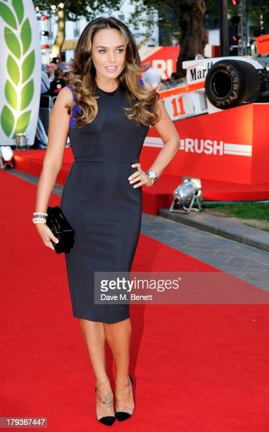 Tamara Ecclestone attends the World Premiere of 'Rush' at Odeon Leicester Square on September 2 2013 in London England