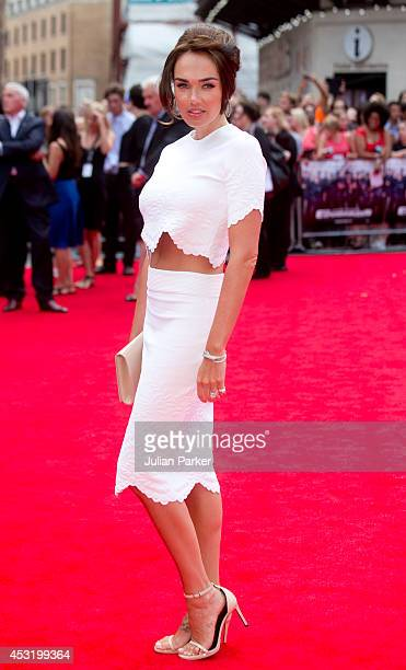 Tamara Ecclestone attends the World Premiere of The Expendables 3 at Odeon Leicester Square on August 4 2014 in London England