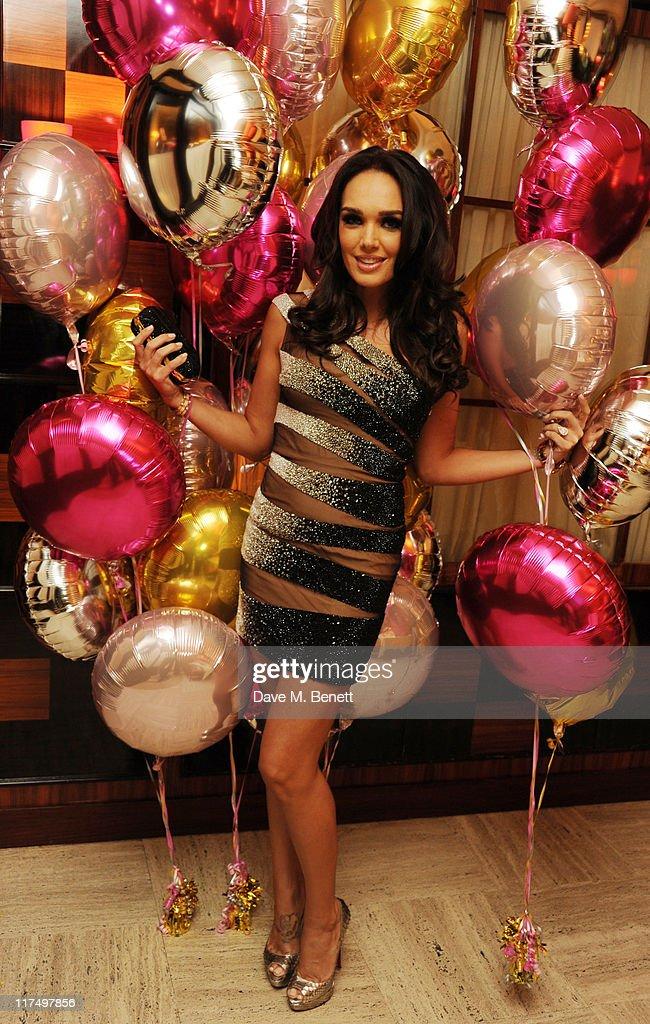 Tamara Ecclestone celebrates her 27th birthday in the private room at Cipriani Restaurant on June 25, 2011 in London.