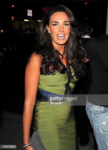 Tamara Ecclestone is seen arriving at BOA Steakhouse on September 2 2011 in West Hollywood California