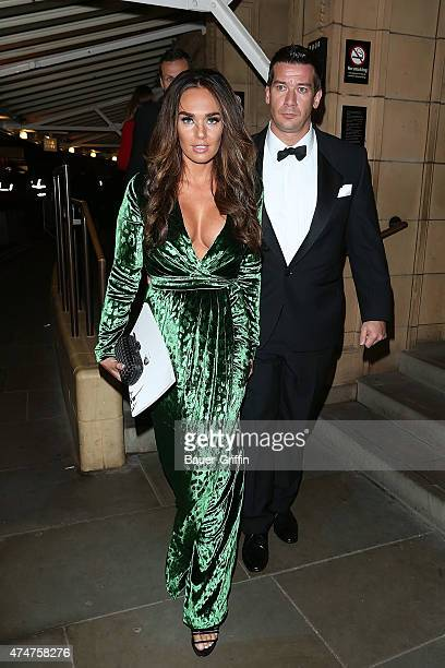Tamara Ecclestone is seen leaving the James Bond 'Skyfall' premiere at The Royal Albert Hall on October 24 2012 in London United Kingdom