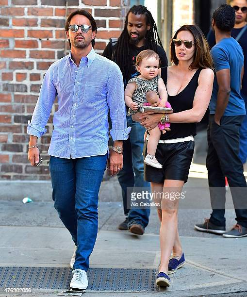 Tamara Ecclestone Jay RutlandSophia Rutland are seen in Soho on June 7 2015 in New York City