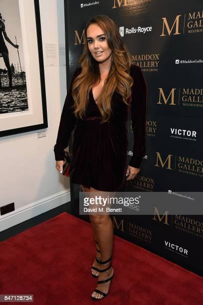 Tamara Ecclestone Rutland attends the private view of leading wildlife photographer David Yarrow's exhibition at Maddox Gallery Westbourne Grove in...