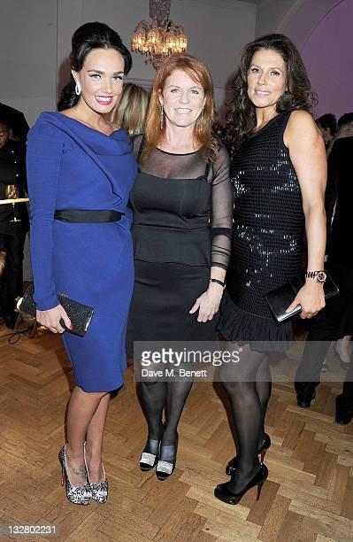 Tamara Ecclestone Sarah Ferguson Duchess of York and Slavica Radic attend Tamara Ecclestone's annual fundraising dinner in aid of Great Ormond Street...