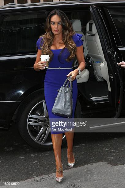 Tamara Ecclestone seen arriving at Claridges on March 1 2013 in London England
