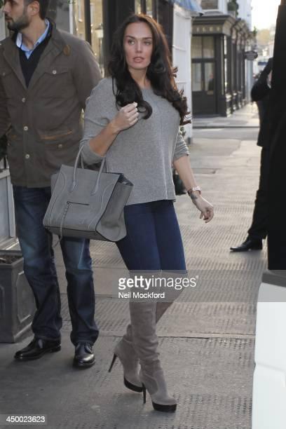 Tamara Ecclestone seen at Scalini Restaurant in Knightsbridge on November 16 2013 in London England