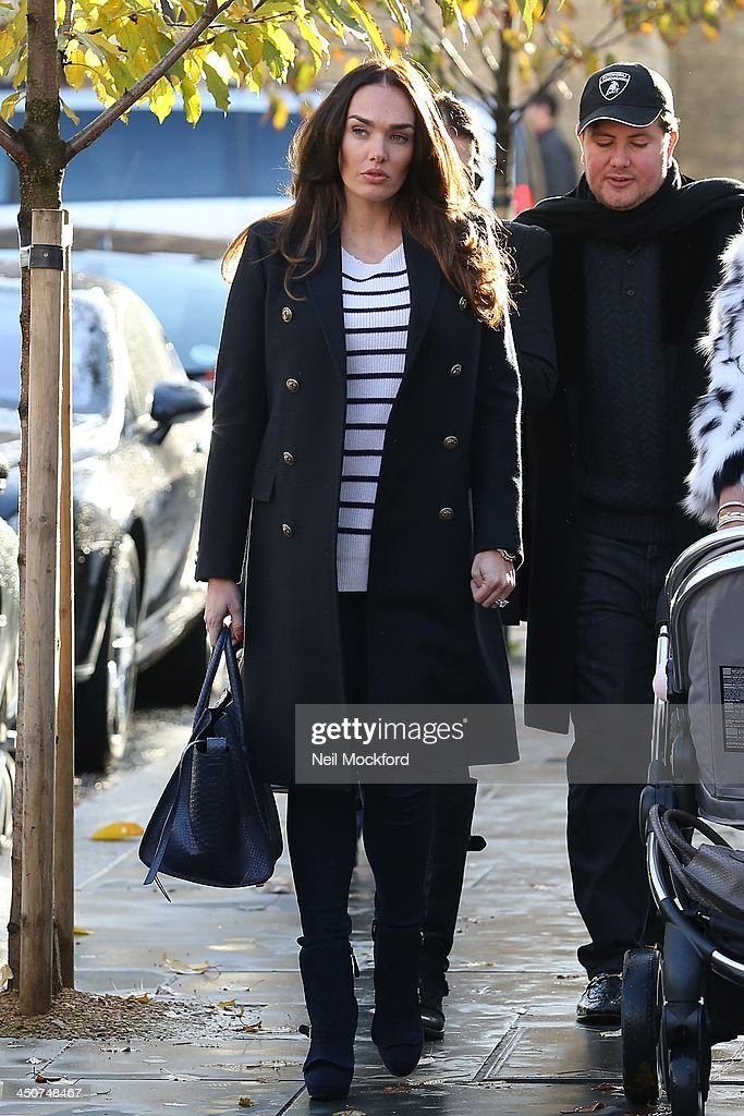 Tamara Ecclestone seen walking to Harrods on November 20, 2013 in London, England.
