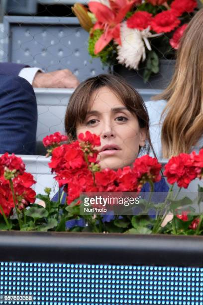 Tamara Falcó Preysler during in the womens final during day eight of the Mutua Madrid Open tennis tournament at the Caja Magica in Madrid Spain on...