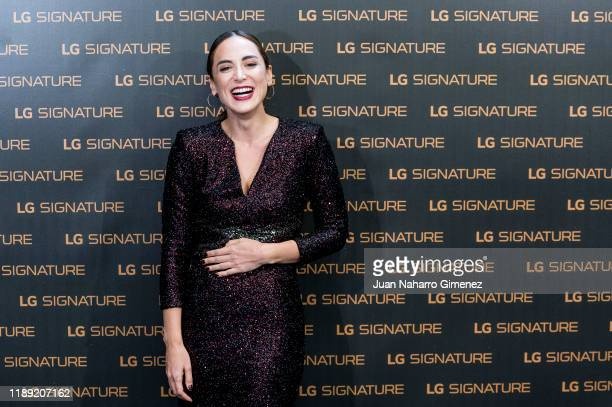 Tamara Falco attends 'Dreams' photocall at ABC Museum on November 21 2019 in Madrid Spain