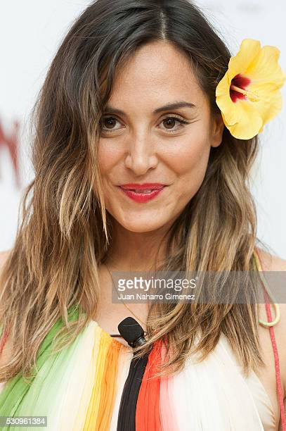 Tamara Falco attends Hawaiian Tropic presentation at Espacio Como on May 12 2016 in Madrid Spain