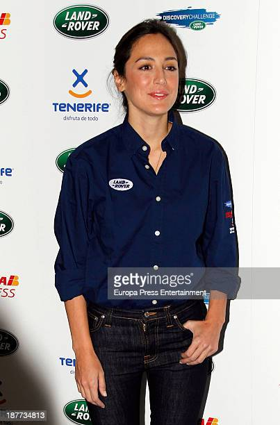 Tamara Falco attends III Land Rover Discovery Challenge 2013 at Barajas Airport on November 11 2013 in Madrid Spain