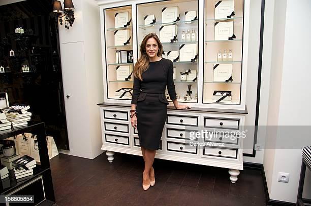"Tamara Falco attends ""Jo Malone London"" store opening on November 21, 2012 in Madrid, Spain."