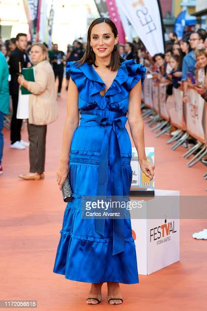 Tamara Falco attends 'Masterchef Celebrity' premiere at Teatro Principal on September 03 2019 in VitoriaGasteiz Spain