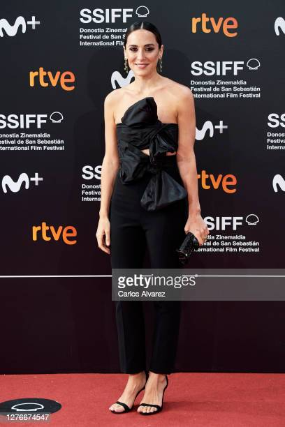 Tamara Falco attends 'Oso' premiere during the 68th San Sebastian International Film Festival at the Kursaal Palace on September 25 2020 in San...