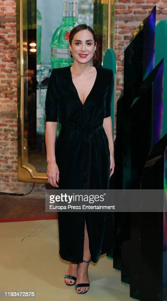 Tamara Falco attends Tanqueray event at Plaza de la Independencia on December 11 2019 in Madrid Spain