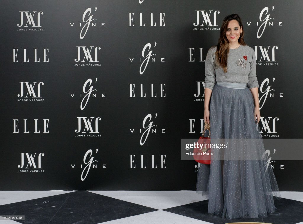 Elle & Jorge Vazquez Photocall in Madrid