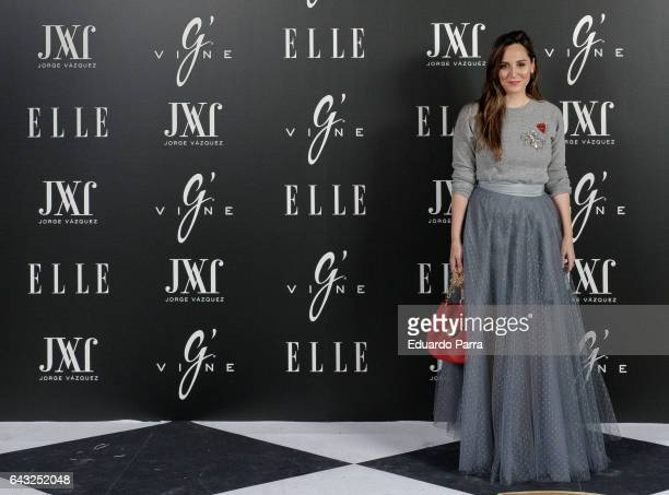 Tamara Falco attends the 'Elle Jorge Vazquez' photocall at Principe Pio theatre on February 20 2017 in Madrid Spain