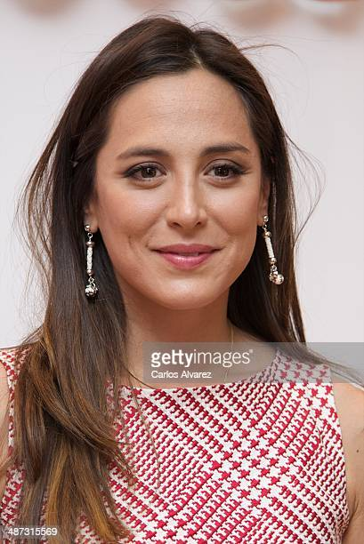 Tamara Falco attends the Folli Follie Flagship Store inauguration on April 29 2014 in Madrid Spain