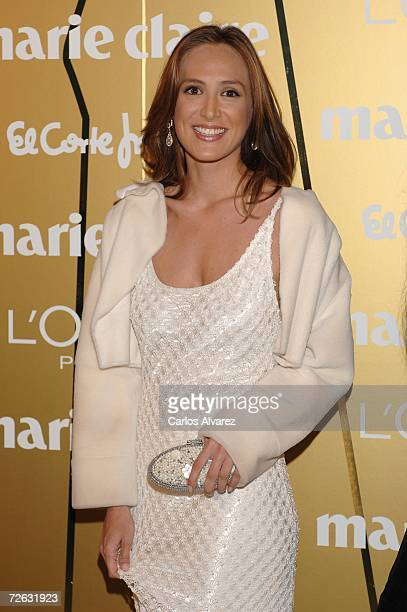 Tamara Falco attends the Marie Clare Awards at the French Embassy November 22, 2006 in Madrid, Spain.