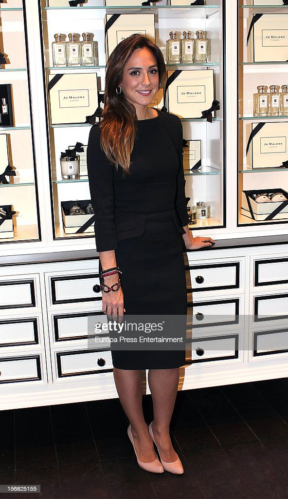 Tamara Falco attends the opening of the first boutique 'Jo Malone London' on November 21, 2012 in Madrid, Spain.