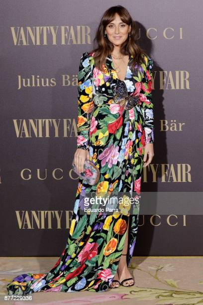 Tamara Falco attends the 'Vanity Fair Personality of the year' photocall at Ritz hotel on November 21 2017 in Madrid Spain