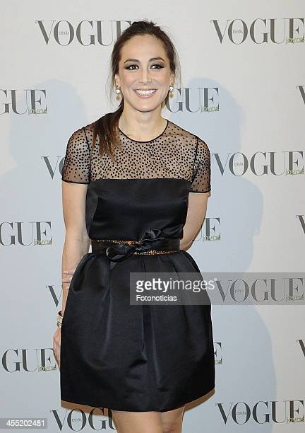 Tamara Falco attends Vogue Joyas 2013 Awards at the Palacio de la Bolsa on December 11 2013 in Madrid Spain
