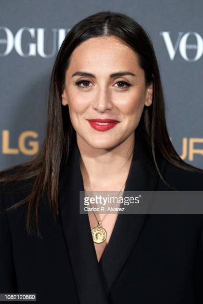 Tamara Falco attends 'Vogue LG Signature' photocall at Carlos Maria de Castro Palace on December 13 2018 in Madrid Spain