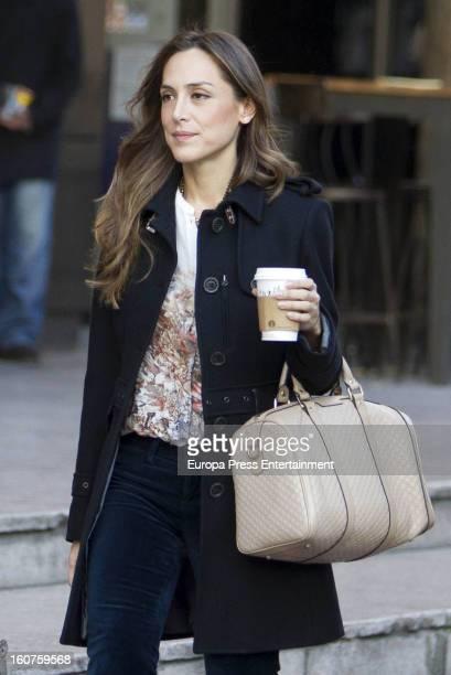 Tamara Falco is seen on January 29 2013 in Madrid Spain