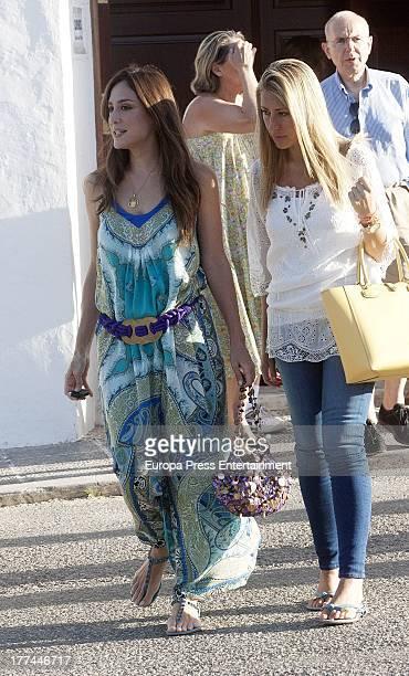 Tamara Falco is seen on July 27 2013 in Ibiza Spain
