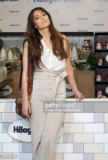 Tamara Falco presents the campaign 'En nombre de lo autentico' by HaagenDazs on May 13 2015 in Madrid Spain