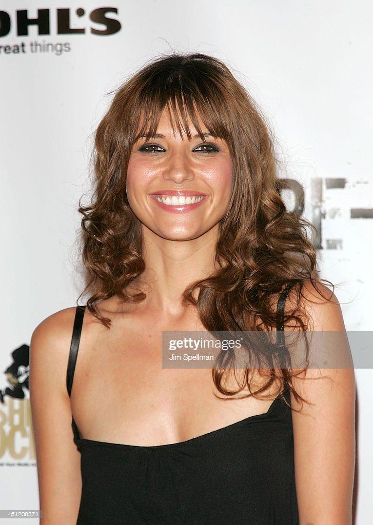 Tamara Feldman from Dirty Sexy Money attends the Fashion ...