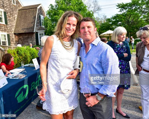Tamara Fraser and Guest attend ARF Thrift Shop Designer Show House Sale at ARF Thrift Treasure Shop on May 26 2018 in Sagaponack New York