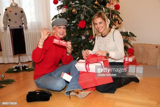 Tamara Graefin von Nayhauss and Katalin von Wrede during the Happy Nikolaus event hosted by NICKI'Scom and Madame at Prisco Haus on December 5 2017...