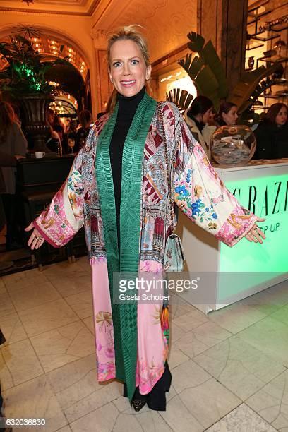 Tamara Graefin von Nayhauss during the GRAZIA Pop Up Breakfast during the MercedesBenz Fashion Week Berlin A/W 2017 at Kaffeehaus Grosz on January 18...