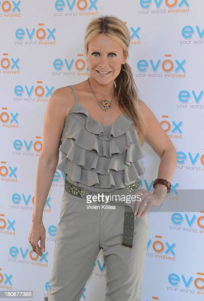 Tamara Henry attends the Green Carpet Launch Of Evox TV Debuting Ed Begley's New Family Show On Begley Street on September 15 2013 in Pasadena...