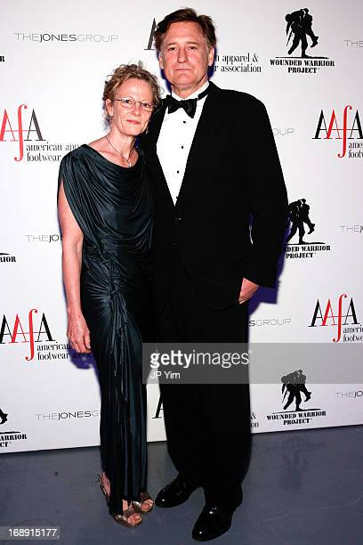 Tamara Hurwitz and Bill Pullman attend the 35th Annual American Image Awards at the Intrepid SeaAirSpace Museum on May 16 2013 in New York City
