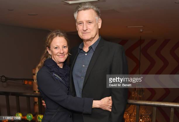 Tamara Hurwitz and Bill Pullman attend the press night after party for All My Sons at The Ham Yard Hotel on April 23 2019 in London England