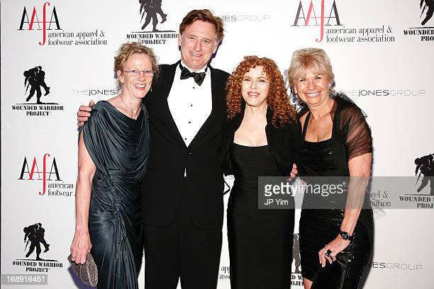 Tamara Hurwitz Bill Pullman Bernadette Peters and Karen Bromley attend the 35th Annual American Image Awards at the Intrepid SeaAirSpace Museum on...