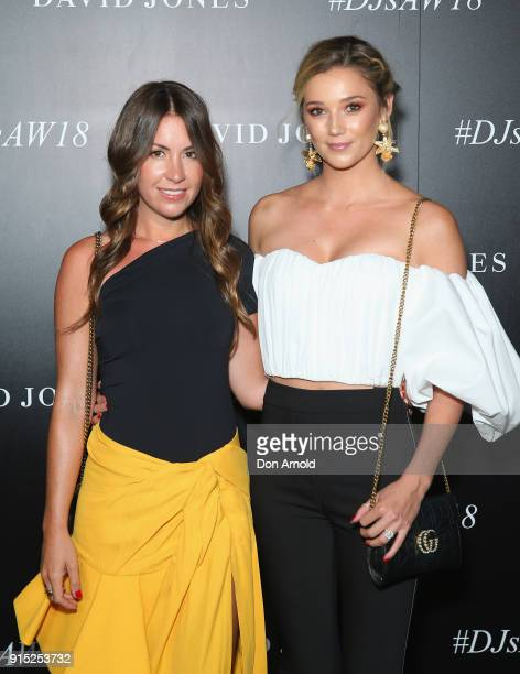 Jasmine Yarbrough arrives ahead of the David Jones Autumn Winter 2018 Collections Launch at Australian Technology Park on February 7 2018 in Sydney...