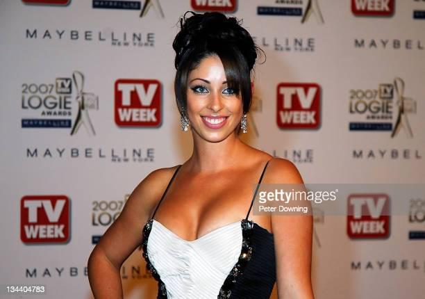 Tamara Jaber during 2007 TV Week Logie Awards Arrivals at Crown Casino in Sydney NSW Australia