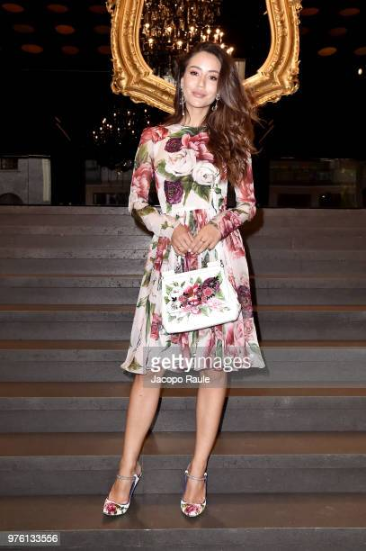 0d51747edc Tamara Kalinic attends Dolce Gabbana DNA Evolution show at Milan Men's  Fashion Week Spring/Summer