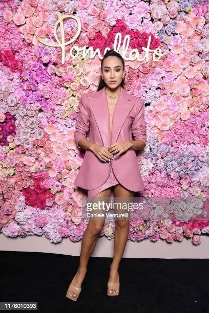 Tamara Kalinic attends Pomellato Pink Party on September 20 2019 in Milan Italy