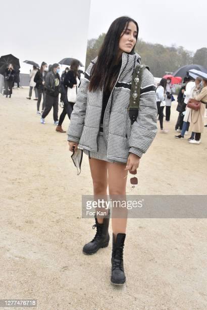 Tamara Kalinic attends the Dior Womenswear Spring/Summer 2021show as part of Paris Fashion Week on September 29, 2020 in Paris, France.